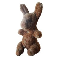 "Vintage 1940's Chenille 3 1/2"" Easter Bunny Rabbit"