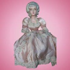 """Vintage 26"""" Dollcraft Boudoir Bed Doll"""