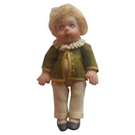 Vintage Doll Artist Miniature All Bisque Doll