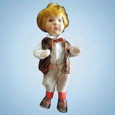 "Vintage Kathe Kruse 10"" Boy Doll"