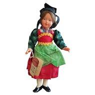 "Vintage Celluloid Schmider Lenl Doll 8"""
