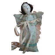 Vintage Japan Ichimatsu Composition Doll in Bunting