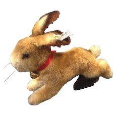 Vintage 1984 Steiff Mohair Hoppy Rabbit