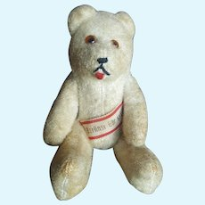 "Vintage 5 1/4"" German Banner Teddy Bear"