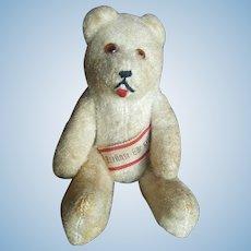 "Vintage 5 1/4"" German Banner Teddy Bear"