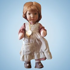 "Vintage 10 1/4"" Soft Body Kathe Kruse Doll with Box"