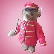 """Vintage Steiff 7"""" Circus Band Teddy Bear"""