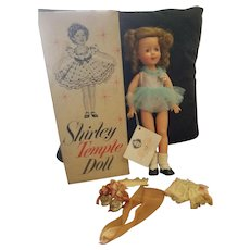 "1957 Ideal 15"" Vinyl Shirley Temple Doll in Box"