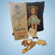 """1957 Ideal 15"""" Vinyl Shirley Temple Doll in Box"""