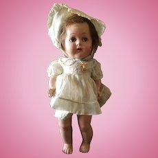 """Vintage 1930's Madame Alexander 14"""" Dionne Quintuplet Doll"""