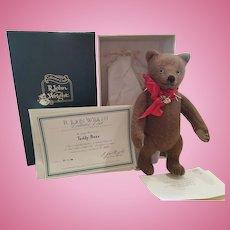 Vintage R. John Wright Teddy Bear Doll