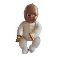 Vintage Patti Hale Carved Wood Kewpie Doll