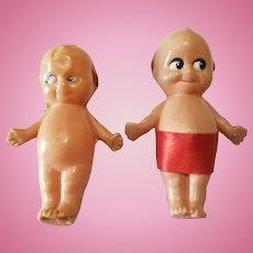 Vintage Rose O'Neill Miniature Celluloid Dolls
