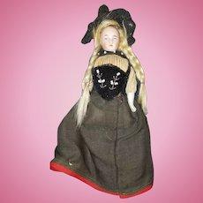Vintage German Bisque Ethnic Doll