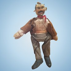 Antique 1911 Schoenhut Humpty Dumpty Circus Hobo Doll