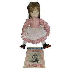 "21"" Vintage Cloth Edith the Lonely Doll by Rothschilld"