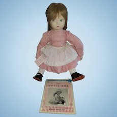 """21"""" Vintage Cloth Edith the Lonely Doll by Rothschilld"""
