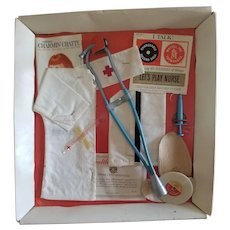 1962 Mattel Charmin' Chatty Let's Play Nurse Set