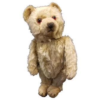 Vintage Chiltern Ting a Ling Mohair Teddy Bear