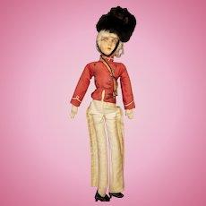 "Wonderful Vintage 17"" French Boudoir Doll"