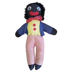 Vintage Cjad Valley Golliwog Doll 17""