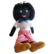 "Vintage 25"" Googly Moving Eye Golliwog Doll"