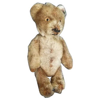 Vintage Schuco Mohair Yes No Teddy Bear