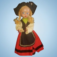 """Adorable 13"""" French Celluloid Character Doll"""