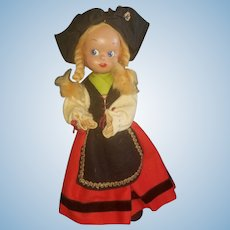 "Adorable 13"" French Celluloid Character Doll"