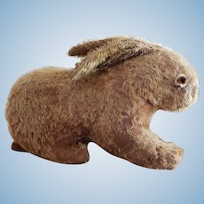 Sweet Vintage 1920's Mohair Easter Bunny Rabbit