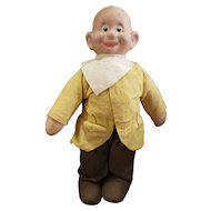 Vintage Composition Snow White Dopey Doll