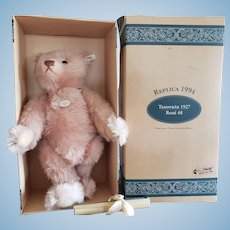 1994 Steiff Mohair Teddy Rose Bear 18""