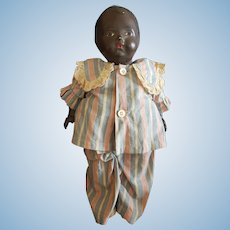 Rare 1920's Black Whistling Dan Doll Madame Hendron Averill