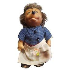 Vintage 1950's Steiff Micki Hedgehog Doll