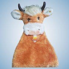 Vintage Steiff Mimic-Kuh Cow Puppet CUTE!