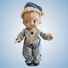 Wonderful Vintage Horsman Composition Campbell Kid Doll