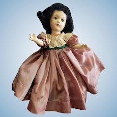 Vintage Composition Madame Alexander Scarlett O'hara Doll
