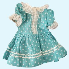 Very Nice Vintage Doll Dress