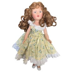 "Lovely 13 1/2"" Vintage  Vinyl Reproduction Mary Hoyer Doll"