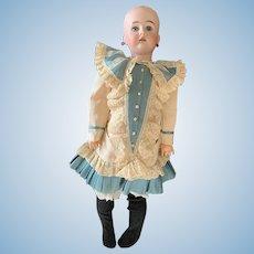 """Very Pretty 26"""" Bisque Head Bahr Proschild Doll"""