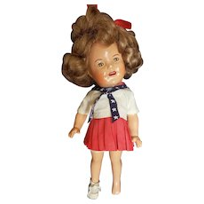 "1934  Ideal 12"" Shirley Temple Composition Doll"