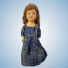 "1925 Effanbee 17"" Composition Rosemary Doll"