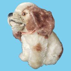 """1950's Steiff 4"""" Mohair Cockie Dog"""