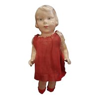 """Rare Louis Amberg Character Face Composition Doll 14 1/2"""""""