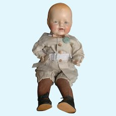 """Vintage E.I.H. Horsman Doll All Original with Pin 17"""""""