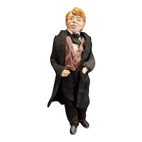 "Vintage Doll Artist Tom Sawyer as a Detective 10 3/4"""