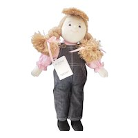 Charlie Bears Australia Mel & Steff Stephanie Cloth Doll 17""