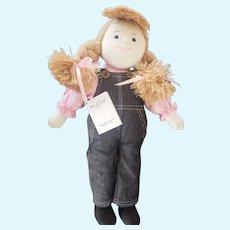 """Charlie Bears Australia Mel & Steff Stephanie Cloth Doll 17"""""""