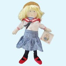"""Vintage 14 1/2"""" Mary Engelbreit's Cloth Ann Estelle Doll"""