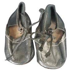 1930's Kathe Kruse or Lenci German Doll Shoes
